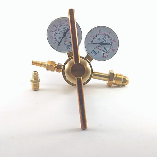 regulador alta pressão nitrogênio 50 bar ou 700psi