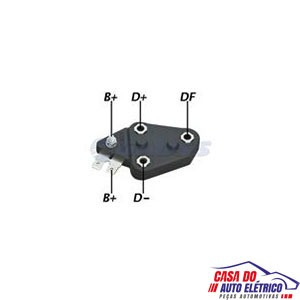 regulador alternador gm-sistema chevrolet brasil-1980-1991
