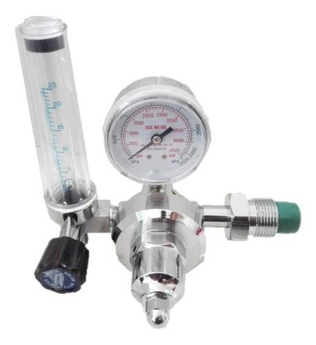 regulador argon con flujometro modelo c-198