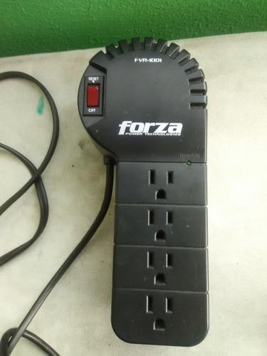 regulador automatico de voltaje marca forza, modelo fvr-1001