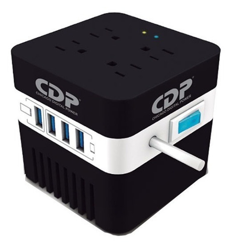 regulador cdp 600 ru avr604 4 usb de recarga 4 contactos