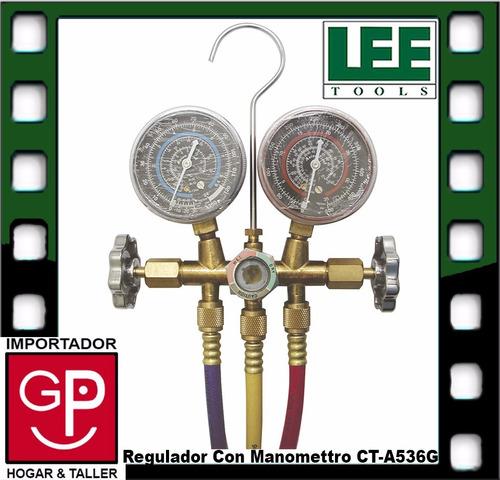 regulador con manomettro ct-a536g lee tools