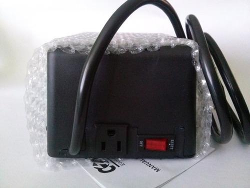 regulador con supresor 1500w para lavadoras, refrigeradores