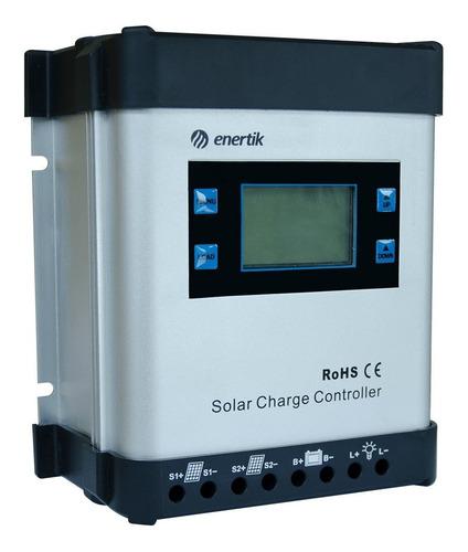 regulador de carga para panel solar 12v/24v 30a - mppt