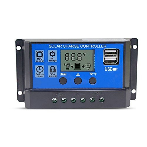 regulador de carga solar 12v24v regulador de c