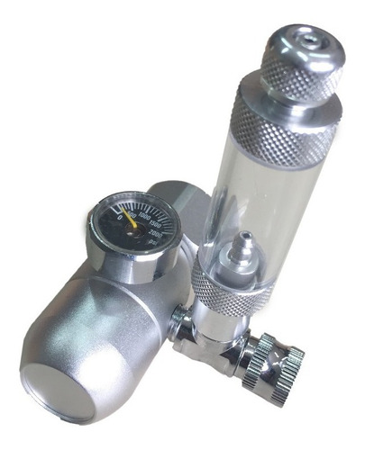 regulador de co2 soma com manometro e conta bolha