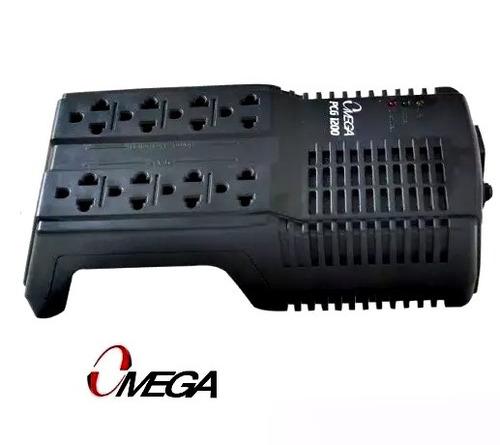 regulador de corriente omega pcg-1200 de 8  tomas