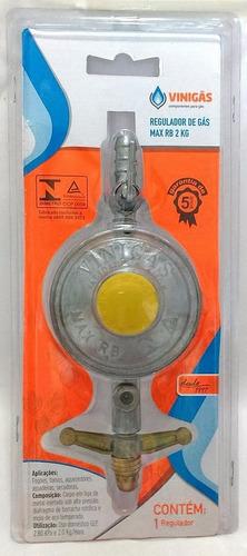 regulador de gás cozinha glp vazão 2 kg botijão registro