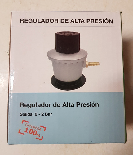 regulador de gas de alta presión