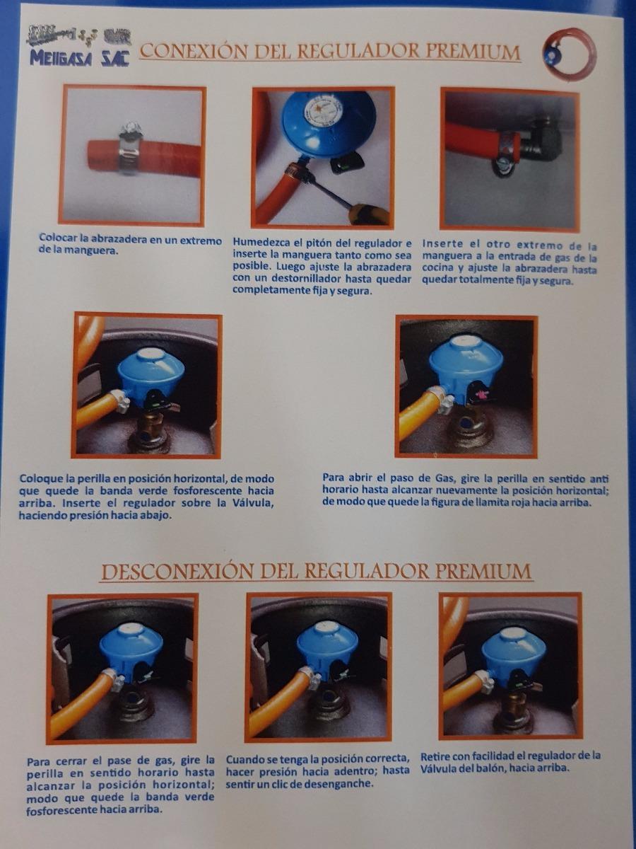Regulador De Gas Domestico Para Válvula Premiúm - S/ 24,00 en ...