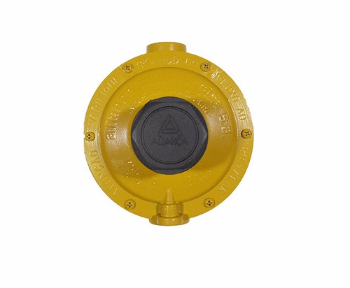 regulador de gas kit 1+1 p45 12 kg/h glp manômetro coletor
