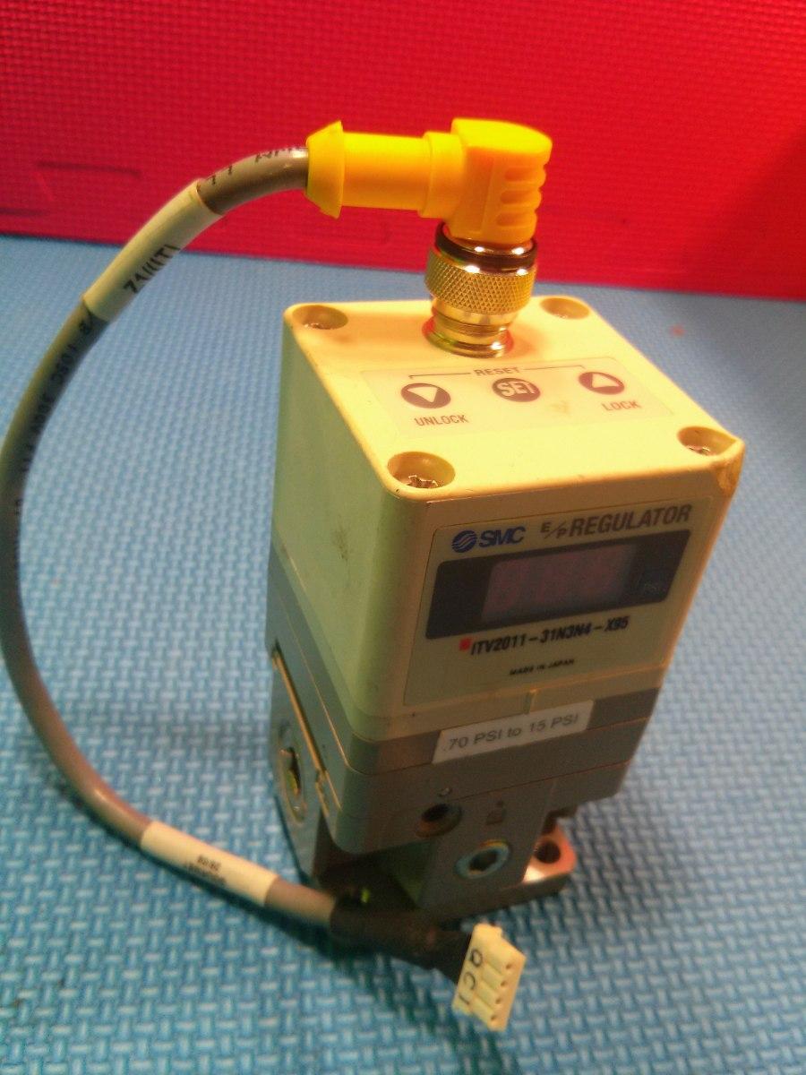 Regulador de presion analogico smc psi itv2011 - Regulador de presion ...