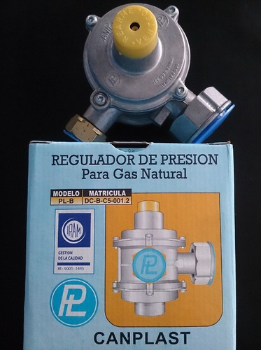 regulador de presion de gas natural de 10mts7/h canplast