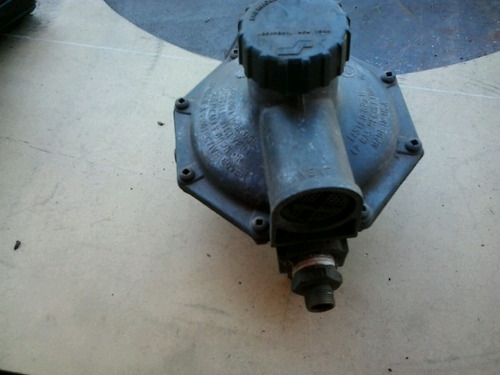 regulador de presión para gas