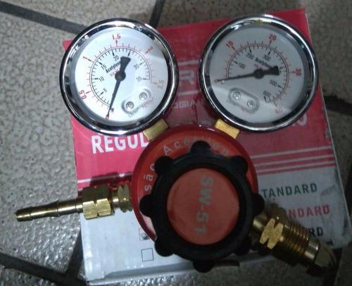 regulador de pressao de acetileno