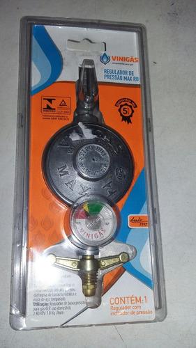 regulador de pressao para gás glp com manômetro d quantidade