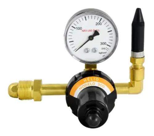 regulador de pressão para gás hélio