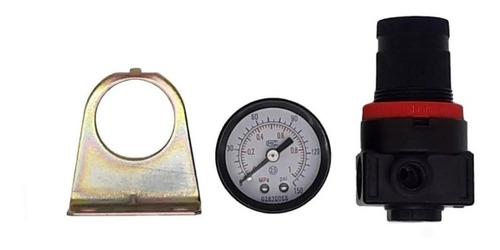 regulador de pressão rosca 1/4 ar compressor pneumática