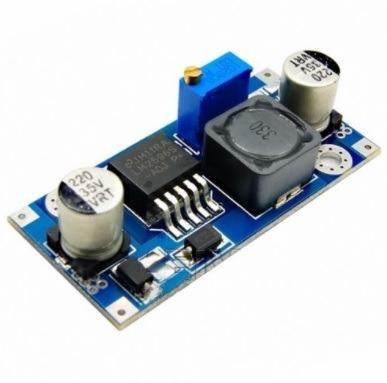regulador de tensão ajustável dc - dc fonte xl6009 step up