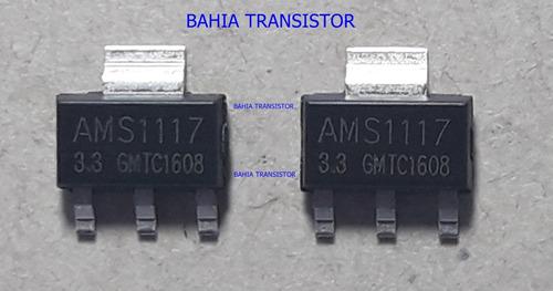 regulador de tensão ams1117-3 = kit com 10 peças