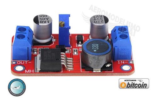 regulador de tensão step up booster xl6019 até 5a arduino