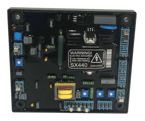 regulador de tensão / voltagem para gerador de até 750kva