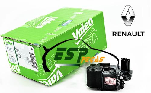 regulador de voltagem original valeo megane cartão sinal