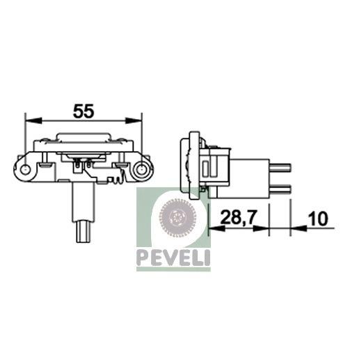 88ab97b728 Regulador De Voltagem Van Santana Quantum Ga223 - R  69