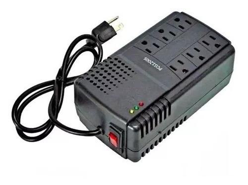 regulador de voltaje 6 toma pa pc laptop electronico tienda