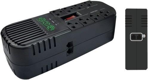 regulador de voltaje 8 tomas 1000 va marca atp