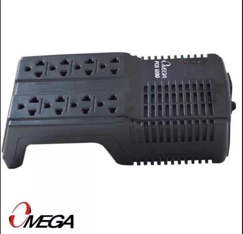 regulador de voltaje 8 tomas - pc,tv,deco,modem,router, etc.