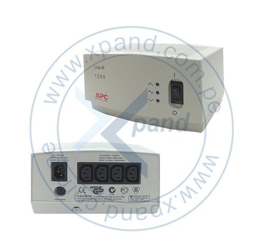 regulador de voltaje apc le-1200i, 1200va, 220v, 4 tomacorri