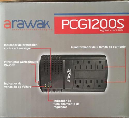 regulador de voltaje arawak
