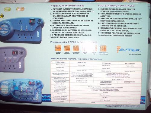regulador de voltaje avtek plus 600 va rpc 4 tomas oferta