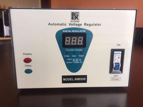 regulador de voltaje bk 5kva automático