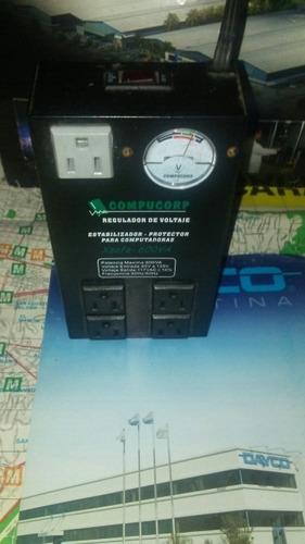 regulador de voltaje compucorp xsafe-600va
