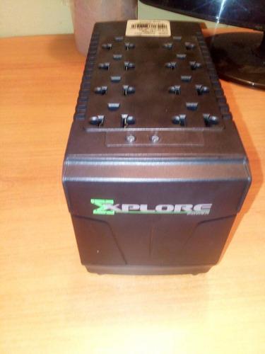 regulador de voltaje de 8 tomas 110v nuevo somos tienda