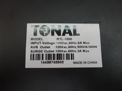 regulador de voltaje emerald tonal rtl-1000