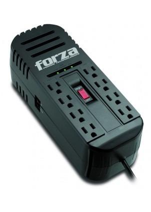 regulador de voltaje forza 1200va 8 tomas modelo fvr-1211b