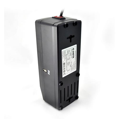 regulador de voltaje jheta power1200 8 contactos usb