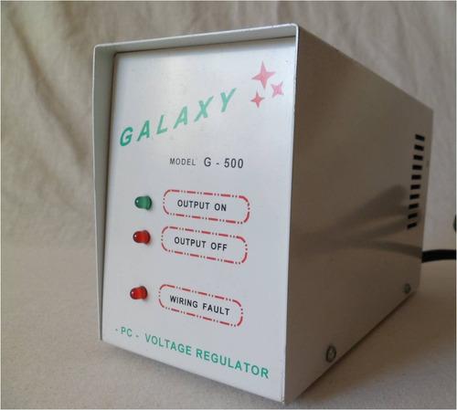 regulador de voltaje marca galaxy