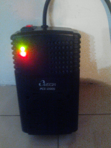 regulador de voltaje omega pcg1200s 6 tomas