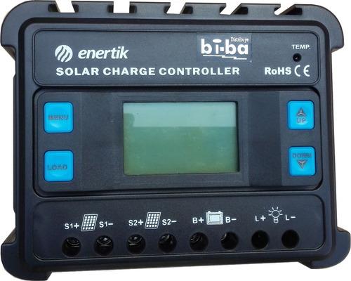 regulador de voltaje panel solar 12v/24v 20a enertik
