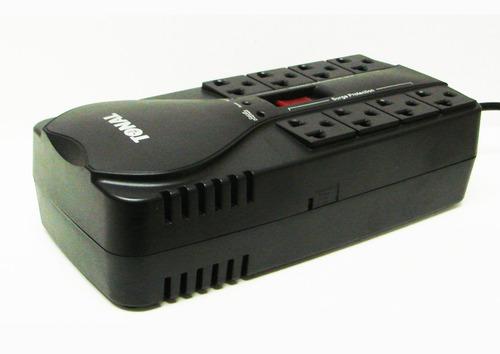 regulador de voltaje para computadoras 8 tomas pc-1500 avr