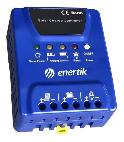 regulador de voltaje para panel solar 12v/24v 20a - enertik