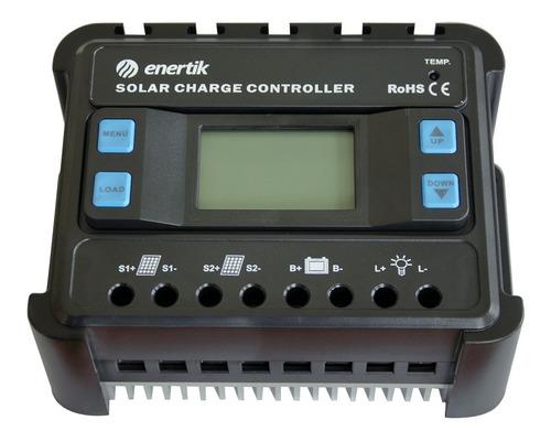 regulador de voltaje para panel solar 12v/24v 60a - enertik
