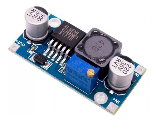 regulador de voltaje step up xl6009 dc dc 5v-35v