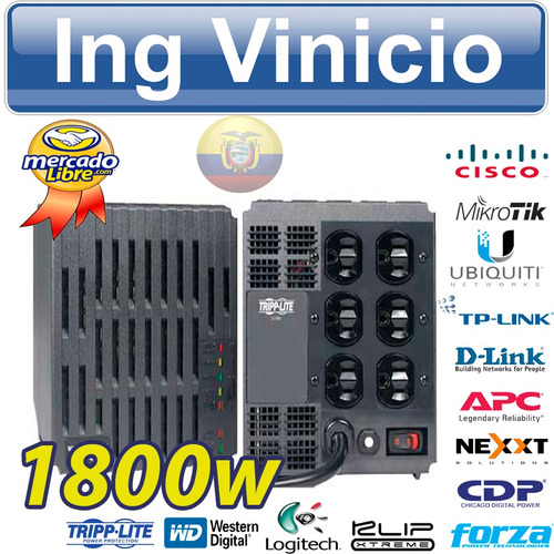 regulador de voltaje tripp-lite lc1800 1800w 110v copiadoras