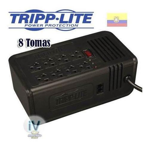 regulador de voltaje tripp-lite vr2008r 1000w 2000va 120v