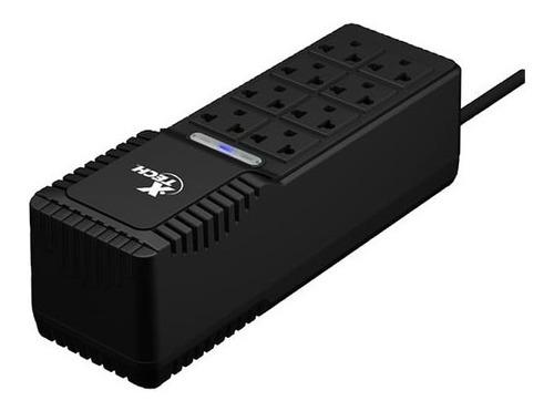 regulador de voltaje x-tech  xtr 1002 8tomas 500 w  1000va